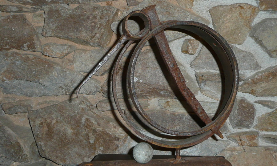 Fabuleux sculpture fer forgé CG82
